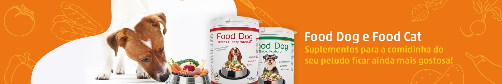 Food Dog, Food Cat e Suplementos Botupharma
