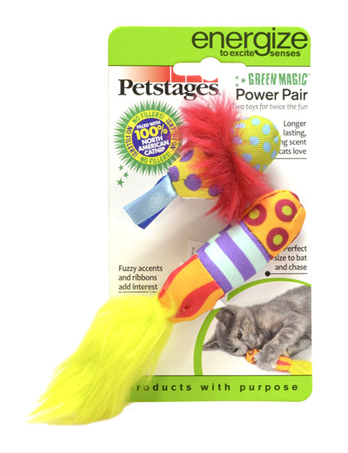 Green Magic Power Pair - Petstages para Gatinhos