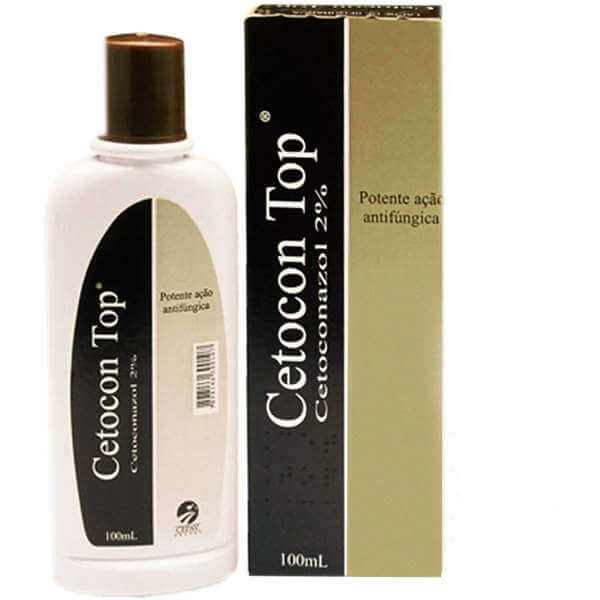 Shampoo Cetocon Top 2% Cepav 100ml
