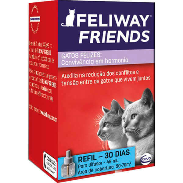 Feliway Friends Ceva - Refil 48ml