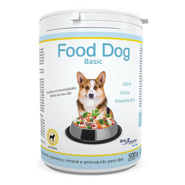 Suplemento Food Dog Basic 500g