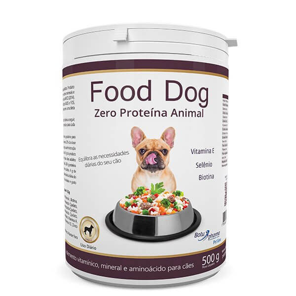 Suplemento Food Dog Zero Proteína Animal 500g