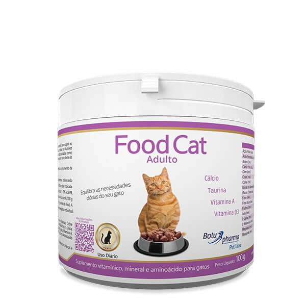Suplemento Food Cat Adulto 100g