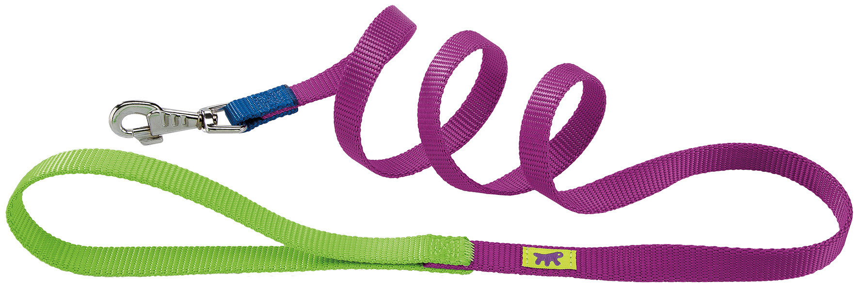 Guia de Nylon Ferplast Club Colours - Grande - Roxo