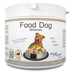 Suplemento Food Dog Minerais 100g