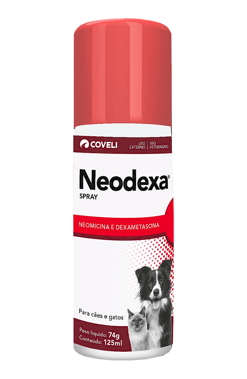 Neodexa Spray Antibiótico Coveli 125ml