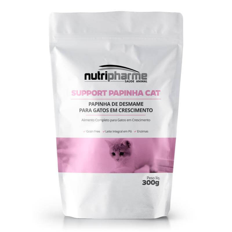 Support Papinha Cat Nutripharme 300g