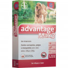 Antipulgas e Carrapatos Bayer Advantage Max 3 - 2,5ml para Cães de 10 a 25Kg (unitário)