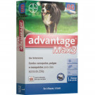 Antipulgas e Carrapatos Bayer Advantage Max 3 - 4,0ml para Cães de 25 a 40Kg (unitário)