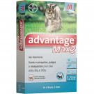 Antipulgas e Carrapatos Bayer Advantage Max 3 1ml para Cães de 4 a 10Kg (unitário)
