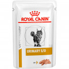 Ração Royal Canin Sachê Feline Veterinary Diet Urinary S/O para Gatos com Cálculos na Urina 85g