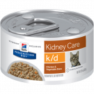 Ração Úmida Hill's Prescription Diet K/D Frango e Vegetais para Gatos - Renal - Lata 82g