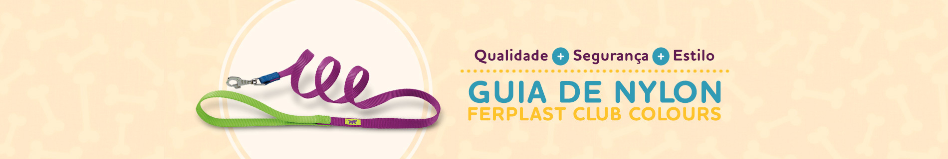 Guia de Nylon Ferplast Club Colours