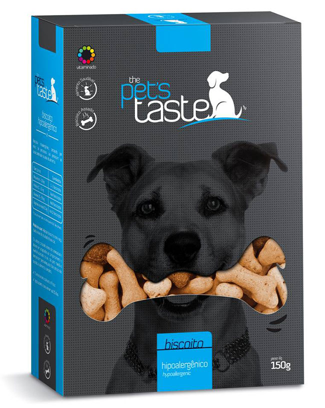 Biscoitos The Pet's Taste Hipoalergênico