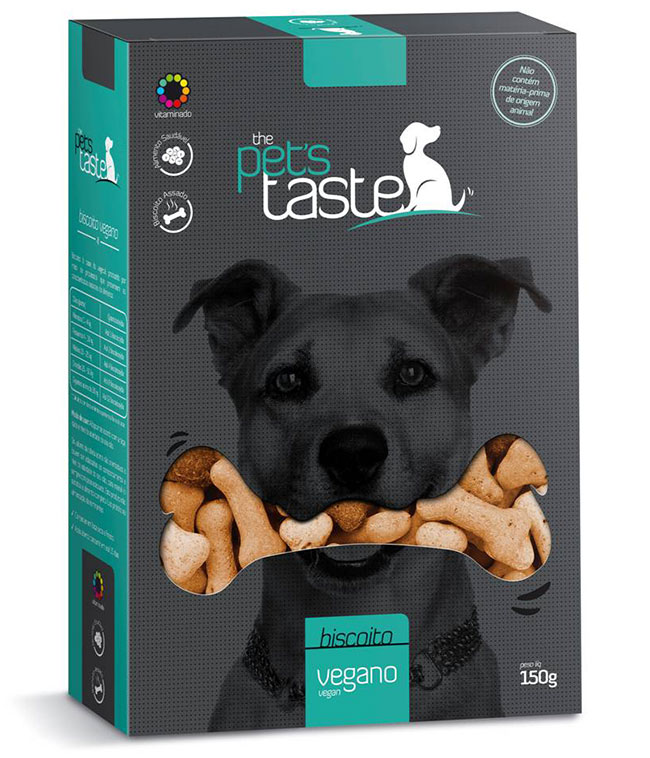 Biscoitos The Pet's Taste Vegano